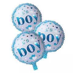 Its A Boy Foil Balloons