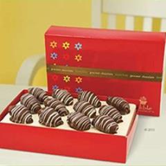 Chocolate Dates with Glaze