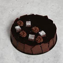 Chocolate Sponge Cake 8 Portion