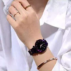 Shimmery Colour Changing Watch