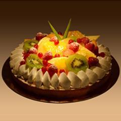 Fruit Tart 8 Portion