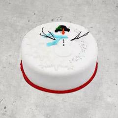 Icing Christmas Cake 8 Portions