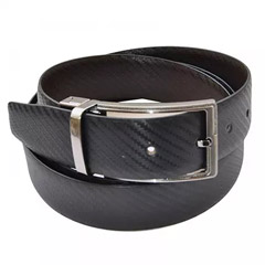 Mens Genuine Leather Reversible Formal Belt
