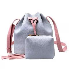 Set of 2 Grey Bags