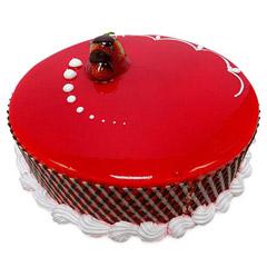 Attractive Strawberry Carnival Cake (500gm)