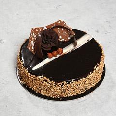 4 Portion Rose Noir Cake
