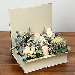 Roses and Plant Arrangement
