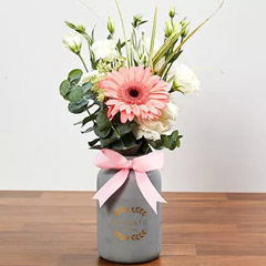 Pretty Arrangement Of Pink and White Flowers