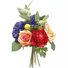 Mix Color Artificial Flower Bunch