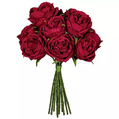 Bunch Of Artificial Red Roses