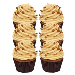 Six Speculoos Cupcakes
