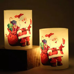 Light Up With Santa