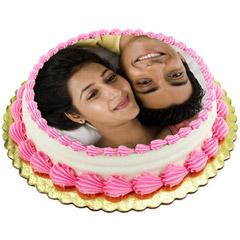 Personalized Cream Cake