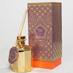 Ethnic Reed Diffuser In Gift Wrap