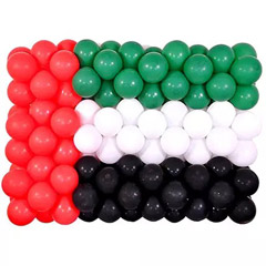 National Day Balloons 100 Pcs