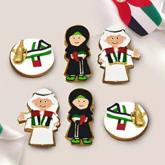 UAE National Day Themed Cookies