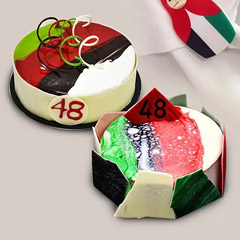 National Day Themed Mono Cakes Set