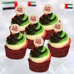 48th National Day Mini Cupcakes