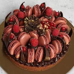 Appetizing Choco Macronade Cake