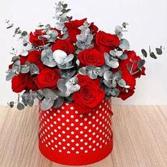 Beautiful Red Roses Box