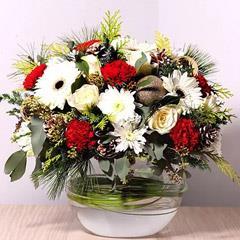 Bowl Of Fragrant Flowers