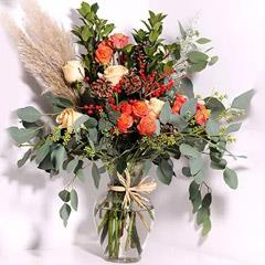 Beautiful Roses Vase