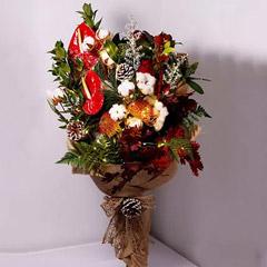 LED Lights Festive Flower Bouquet