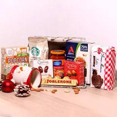 Delicious Treats Holiday Basket
