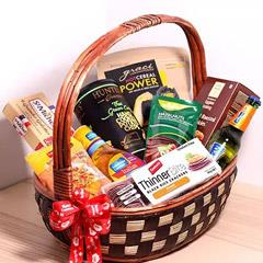 Sweet And Salty Treats Basket