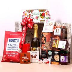 Christmas Wishes Snack Basket
