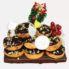 Profiterole Cake 4 Portion