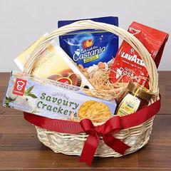 Delicious Basket Of Snacks