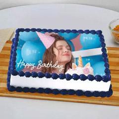 Birthday Photo Cake For BFF