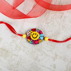 Smiley Emoji Rakhi