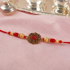 Antique Red Rakhi