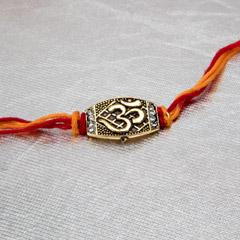 Ethnic Om Rakhi