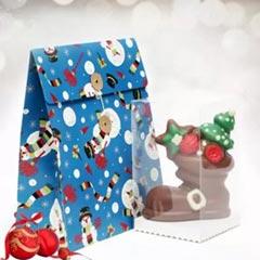 Chocolaty Santa Boot Surprise