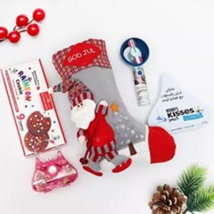 Kisses and Marshmallow Joy in Stocking