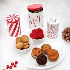 Cheerful & Yum Secret Santa Jars