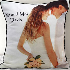 Mr & Mrs Personalized Cushion