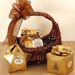 Alluring Ferrero Rocher Gift Basket