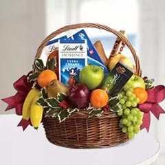 Chocolates & Fruit Basket
