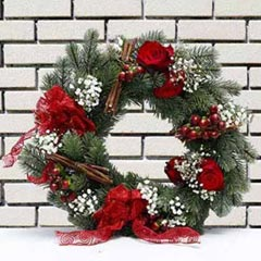 Shooting Star Wreath