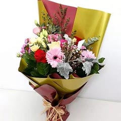 Pastel Shade Flower Bouquet