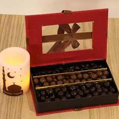 Special Chocolate Box N Ramadan Candle